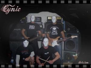 "Die Band ""Cynic"" in ihrem Proberaum 2008"