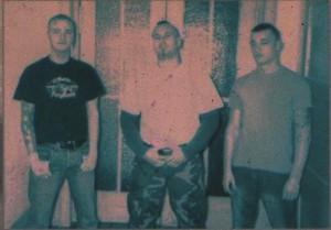 """Die Band """"Redrum"""" im Booklet des DSP-Sampler 2006; links Martin Rollberg"""