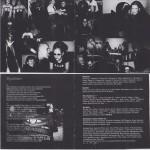 """Melanie Witassek 2003 im """"A.C.A.B""""-T-Shirt und gegrüßt von Martin Rollberg aka """"William"""" im Booklet des Album """"Ausser Kontrolle"""" von Bloodshed."""