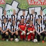 Daniel Friedrich als Trainer für das 2. Männer-Team von Fortuna Babelsberg - als Torwart der Neonazi Mario Schober