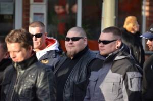 Patrick Danz, Daniel Hintze und Marvin Hoffmann am 31. März 2012 in Dortmund